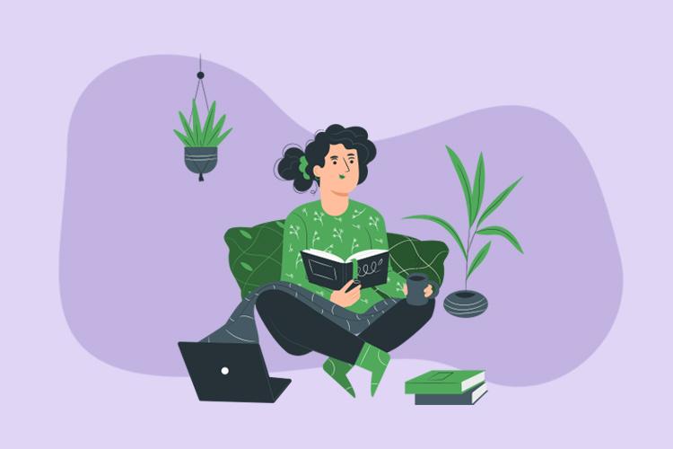 Ilustración. Clubes de lectura