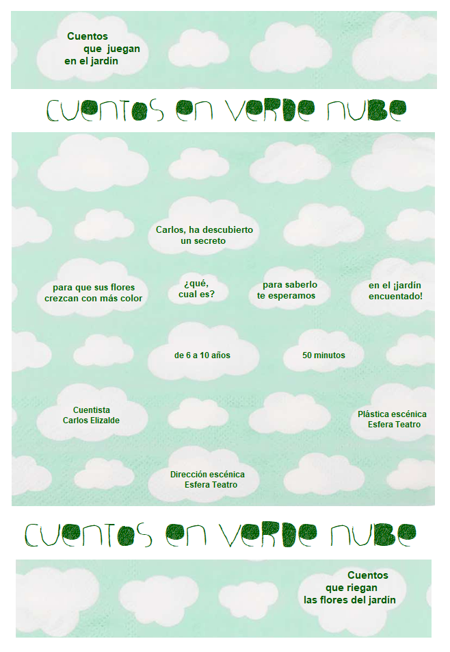 Cuentos en verde nube